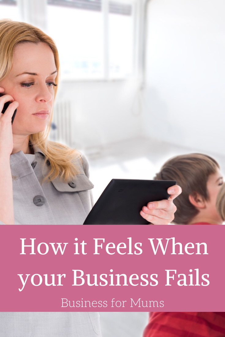 How it feels when your business fails
